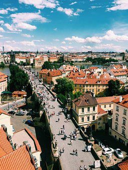 Prague, Czech, City, Sky, Republic, Europe