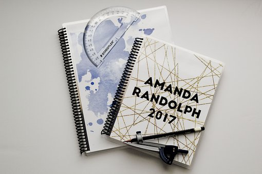Planner, Planners, Compass, Protractor, Cover, Exterior