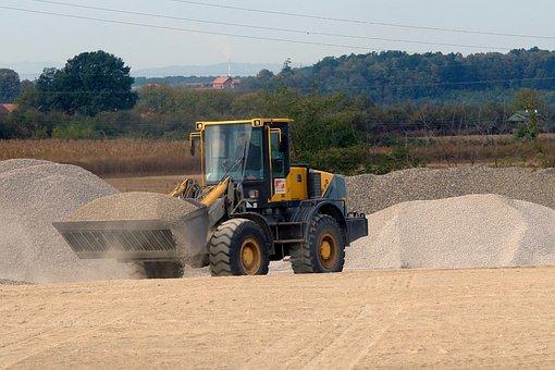 Excavator, Sand, Industry, Machine, Digger