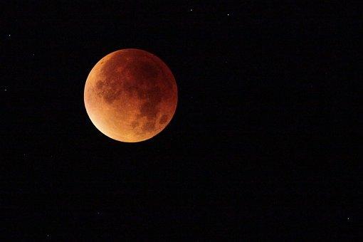 Blood Moon, Lunar Eclipse, Core Shadow Eclipse