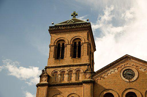 Medellin, Colombia, Church, Cathedral, Main Church