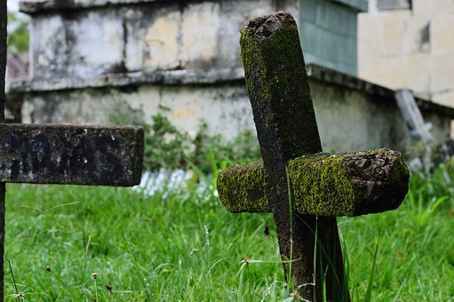 Cemetery, Old, Tomb, Death, Halloween, Tombstone