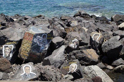 Stones, Santa Cruz, Musician, Composer, Tenerife, Idea