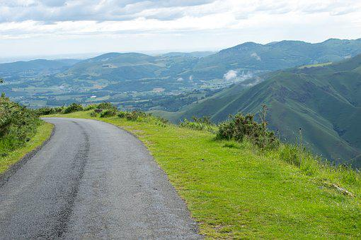 Spain, Santiago Path, Road, Path, Ride, Green, Quiet