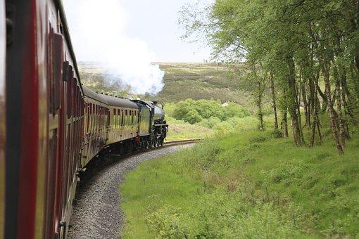 North Yorkshire Moors, Railway, Steam, Yorkshire