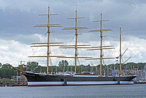 Tall Ship, The Four-masted Barque, Passat