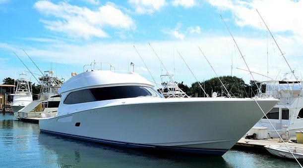 Luxury Yacht, Boat, High Speed, Yacht, Sea, Water
