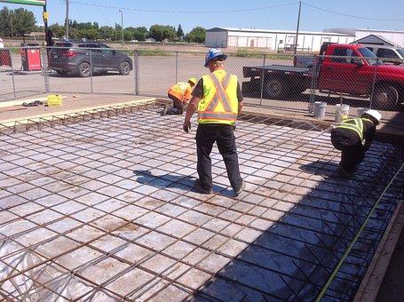 Concrete, Cement, Construction, Workmen, Redi-mix