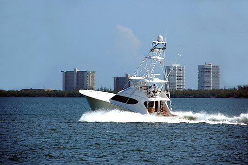 Charter Fishing, Game Fishing, Sport, Boat, Fishing