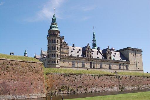 Castle, Hamlet, Denmark, Helsingor