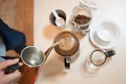 Coffee, Hand Drip, Coffee Muffins, Carly Car Port