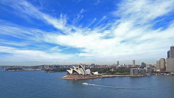 Sydney, Opera, City, Australia, Water, Harbour, Tourist