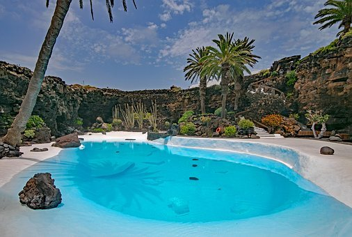 Jameos Del Agua, Lanzarote, Canary Islands, Spain