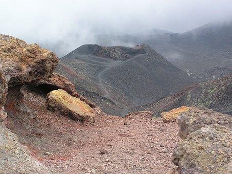 Lava, Colours, Mt Etna