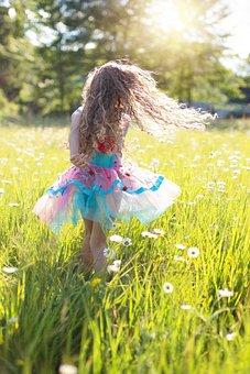 Dance, Little Girl, Twirling, Twirl, Ballerina