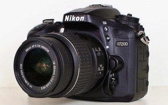 Camera, Nikon, Nikon 7200, Old Camera, Photo Camera