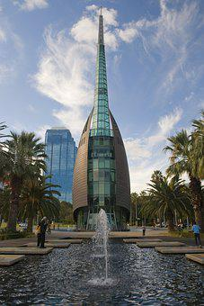 Bell Tower, Perth, Fountain, City