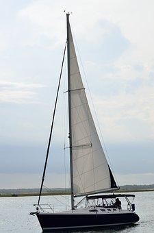 Sailboat, Cruising, Sailing, Cruise, Boat, Ocean