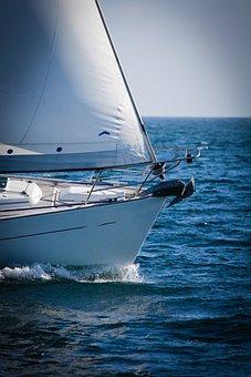Yacht, Sailing, Sea, Boat, Sail, Water, Ocean, Ship