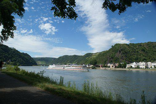 Rhine Equipment, Middle Rhine, St Goar, Landscape