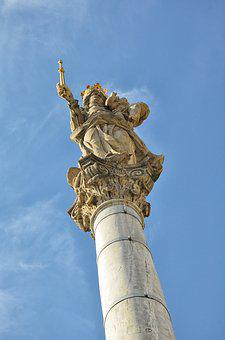Column, Monument, Sculpture, Tourism, Culture, Travel