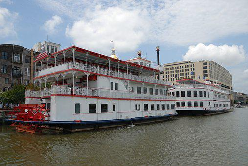 Riverboat, Tourism, Vacation, River, Boat, Water