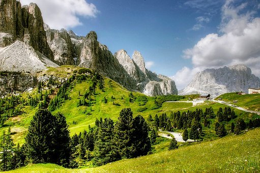 Dolomites, Val Gardena, Nature, Landscape, South Tyrol