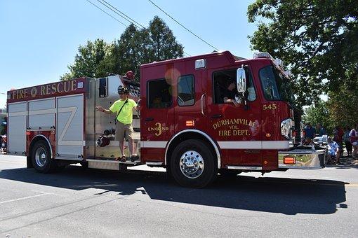 Firetruck, Fire, Truck, Firefighter, Emergency, Rescue