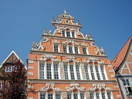 Stade, Hanseatic City, Architecture, Building, Facade