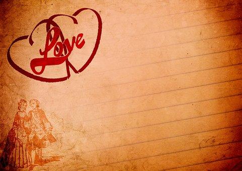 Love, Heart, Romance, Greeting Card, Map, Luck, Orange