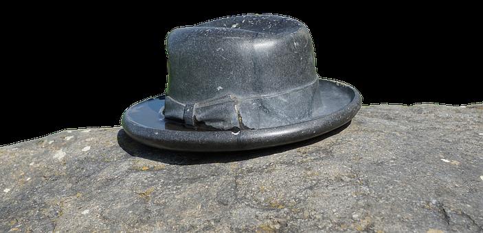 Hat, Brim, Stone, Headwear, Hutkrempe, Old Hat, About
