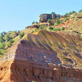 Palo Duro Canyon, Spanish Skirts, Red Sandstone