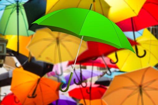 Umbrella, Color, Atmosphere, Mood, Attitude To Life