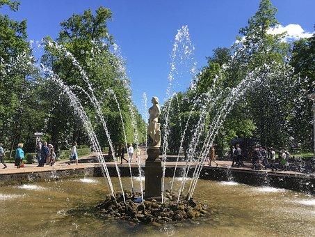Fountain, Water Games, Water, Water Fountain, Art