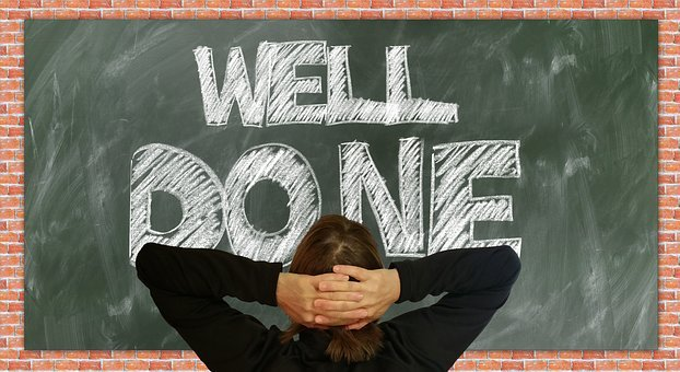 Board, School, Done, Well Done, Self Confidence