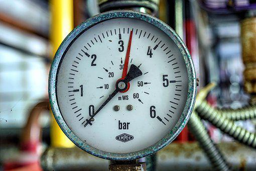 Pressure, Pressure Gauge, Measure, Bar, Gauge, Ad