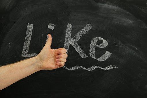 Thumb, Board, Top, Facebook, Hand, Like, Font