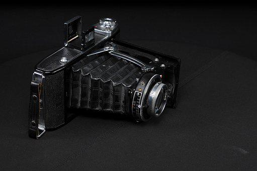 Camera, Old, Bellow, Photograph, Nostalgia, Old Camera