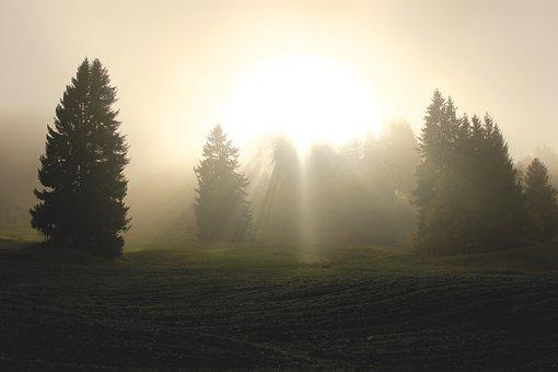 Divine Light, Light, Clouds, Sunlight, Spirit