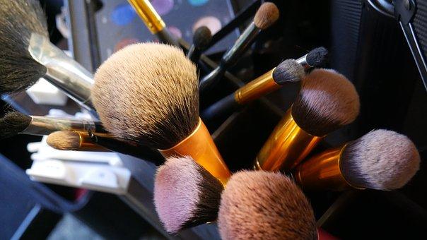 Makeup, Brushes, Cosmetic, Professional, Eyeshadow