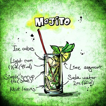Mojito, Cocktail, Drink, Alcohol, Recipe, Party