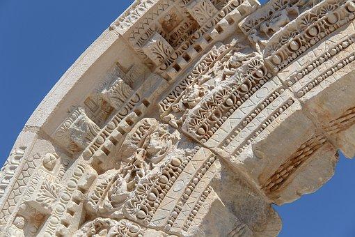 Antiquity, Ephesus, Turkey, Archaeology, Arch