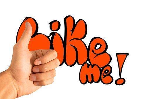 Thumb, Facebook, Hand, Like, Font, Social Network