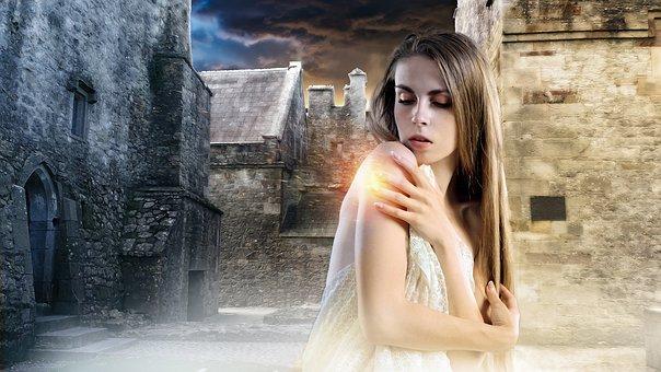 Gothic, Fantasy, Female, Lady, Fantasy Girl