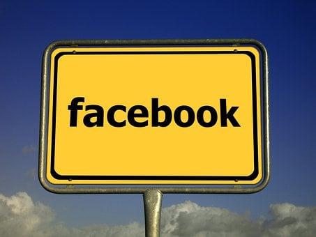 Facebook, Town Sign, Note, Yellow, Board, Internet