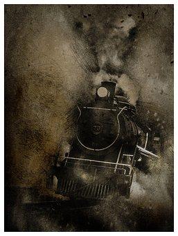 Locomotive, Transport, Railroad, Train, Industry, Cargo