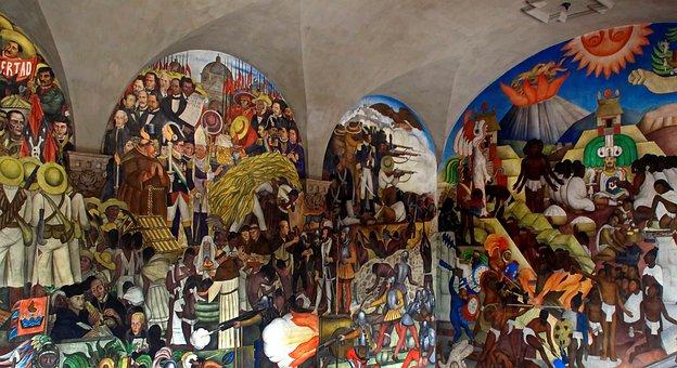Mexico, National Palace, Fresco, Diego Ribera