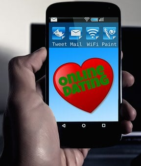 Online Dating, Smartphone, Mobile Phone, App, Icon
