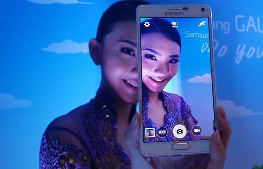 Samsung, Smartphone, Mobile, Note 4, Galaxy, Screen