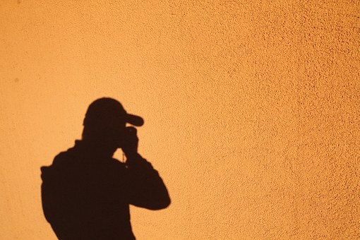 Photographer, Shadow, Self Portrait